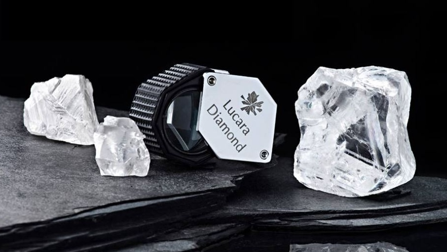 """The stone will tell us its story. It will dictate how it wants to be cut, and we will take the utmost care to respect its exceptional properties,"" said Laurence Graff, the diamond's new owner. (Lucara Diamond Facebook)"