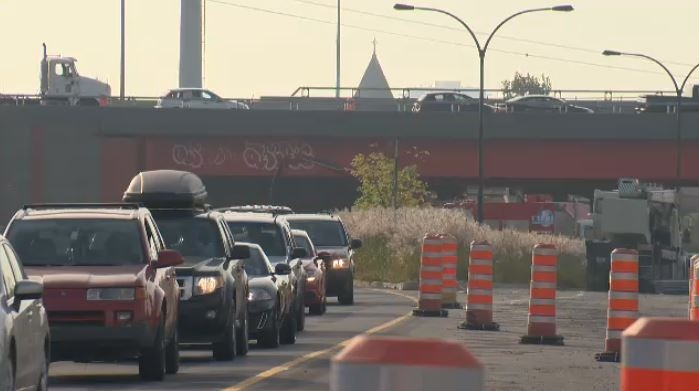 Drivers are forced to detour after Highway 15 north to the 20 west closed.