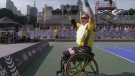 Extended: Invictus competitor's wheelchair dancing