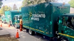 Toronto Hydro says work on a power outage in the city's Forest Hill neighbourhood will last longer than originally anticipated as the source of the problem has not yet been located. (Cristina Tenaglia/CP24)