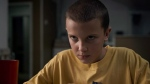 "This image released by Netflix shows Millie Bobby Brown in a scene from ""Stranger Things.""  (THE CANADIAN PRESS/HO-Netflix via AP)"