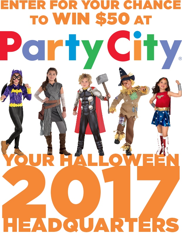 Party City - Halloween 2017 Contest (main)