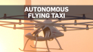 Flying taxi takes test flight