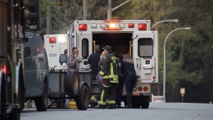 Mounties are investigating after a 28-year-old man was found in cardiac arrest at the roadside in Surrey.