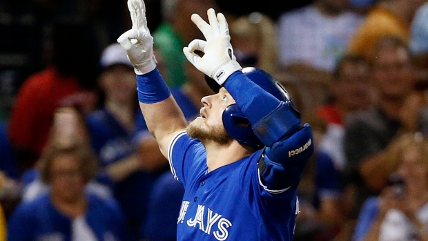 Jays star back at third base after 'dead-arm' phase