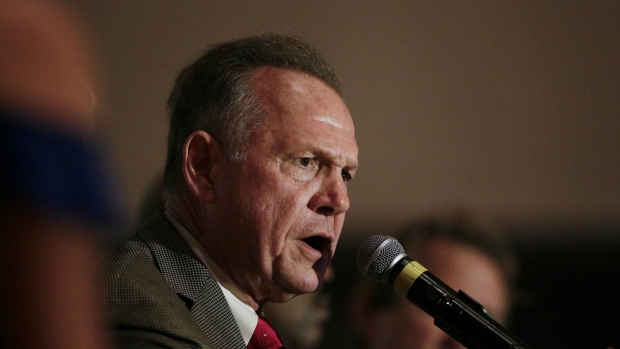 Roy Moore elected in Alabama primary race