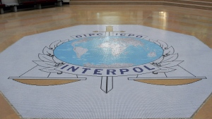 Interpol headquarters in Lyon, France, on Oct.16, 2007. (Laurent Cipriani / AP)
