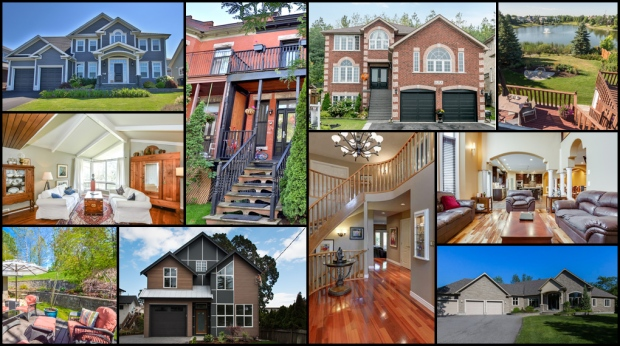 From a 5,600 square-foot home in St. John's to a three-bedroom luxury family home in Victoria, CTVNews.ca's Lorena Rosati takes a virtual tour of $1-million properties across major Canadian markets.