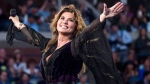 Shania Twain performs at the opening night ceremony of the U.S. Open tennis tournament at the USTA Billie Jean King National Tennis Center on Monday, Aug. 28, 2017, in New York. Twain pushed through much physical and emotional trauma to make her new album. THE CANADIAN PRESS/AP-Invision-Charles Sykes