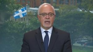 Quebec finance minister Carlos Leitao