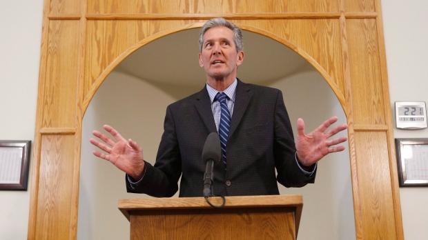 Manitoba Premier Brian Pallister