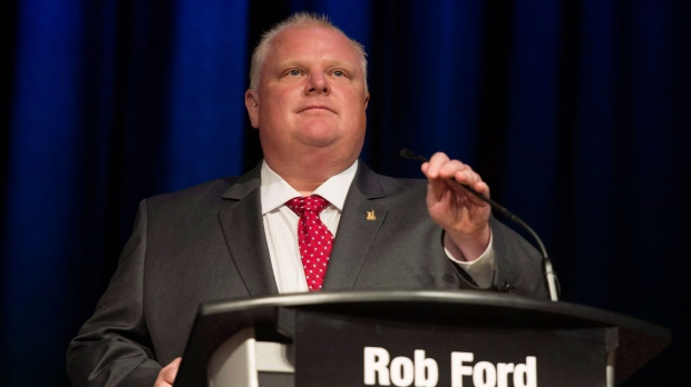 Mayor Tory supports renaming Etobicoke stadium after Rob Ford