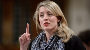 In the policy roll-out today, Heritage Minister Melanie Joly will also pledge an increase in the amount of federal money going to the Canada Media Fund, a program traditional broadcasters also pay into. (File image)