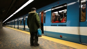 The Mont-Royal Metro Station in Montreal, Que., Feb. 6, 2016. THE CANADIAN PRESS IMAGES/Lee Brown
