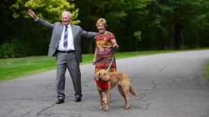 David and Sharon Johnston awarded key to the city