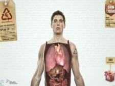 This image, taken from the RecycleMe.org website, show the new Trillium Gift of Life organ donation campaign.