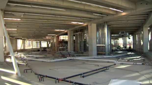 The final phase of construction of the Central Library will focus on the interior of the building