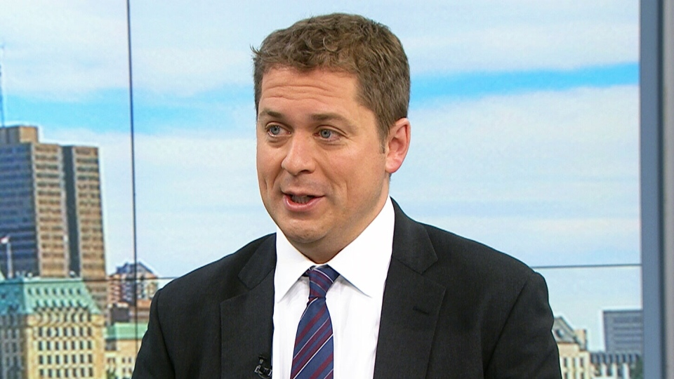 Conservative Leader Andrew Scheer appears on CTV's Your Morning, Friday, Sept. 29, 2017.