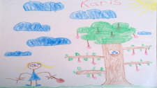 Karis Olmsted, 6 years old, Grade 1, Our Lady of Peace School in Bells Corners