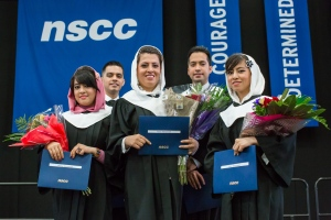 The five Mohammadi siblings from Afghanistan graduated recently from NSCC's Adult Learning Program at the Institute of Technology Campus