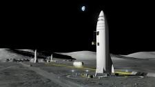SpaceX's new mega-rocket design