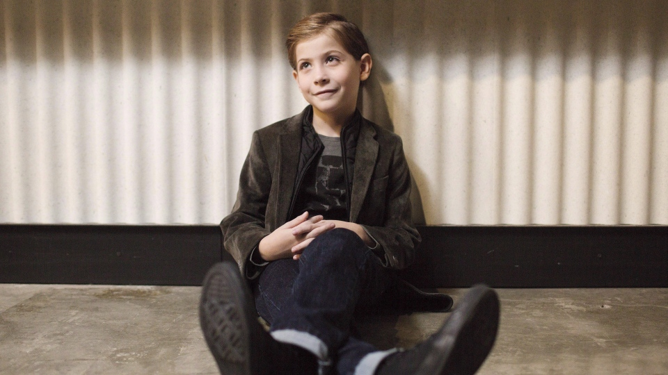 Actor Jacob Tremblay poses for a photo during the Toronto International Film Festival on Thursday, September 15, 2016. (Michelle Siu/The Canadian Press)