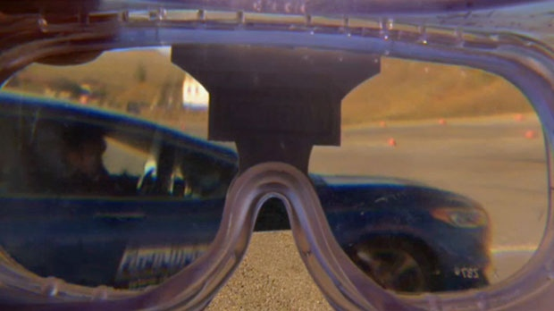 Ford Driving Skills for Life - fatal vision goggle