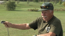 An Alexandria man turns his backyard into a spectacular 9 hole golf course for friends and locals.