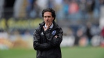 Montreal Impact head coach Mauro Biello watches his team from the sideline during the second half of an MLS soccer match against the Philadelphia Union on Saturday, April 22, 2017, in Chester, Pa. (Michael Perez/AP/The Canadian Press)