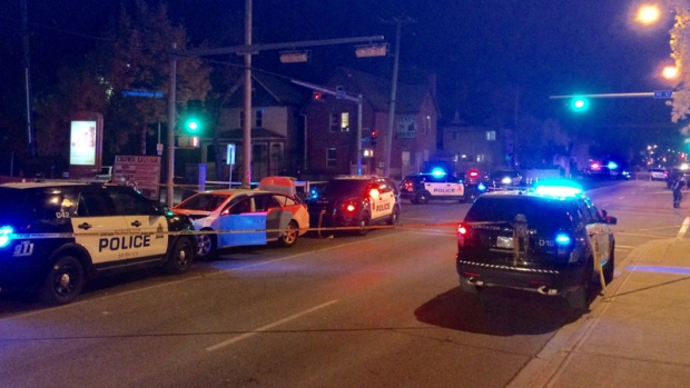 Canadian police officer and four pedestrians injured in 'act of terrorism'