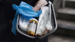 A naloxone anti-overdose kit is shown in Vancouver, Friday, Feb. 10, 2017. (THE CANADIAN PRESS/Jonathan Hayward)