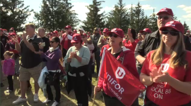 cami workers ingersoll unifor strike