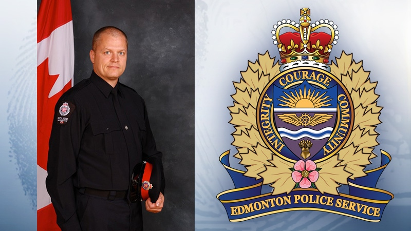 Const. Mike Chernyk, 48, was run over and stabbed in the face and head in the violent attacks in Edmonton. He has been released from the hospital.