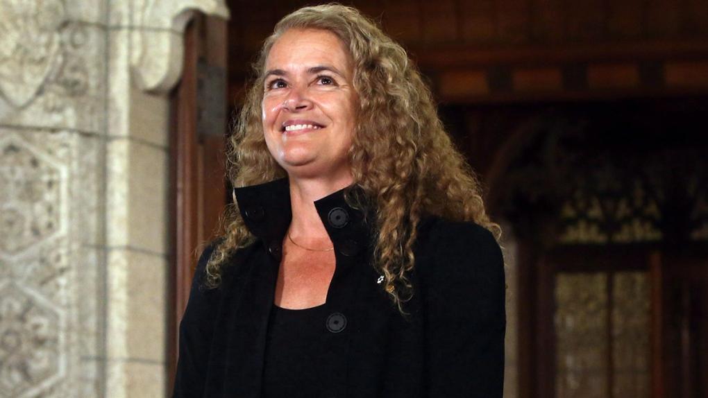 Governor General designate Julie Payette