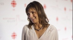 Author Rachel Cusk arrives on the red carpet at Giller Prize Gala in Toronto on Tuesday, November 10, 2015. (THE CANADIAN PRESS / Chris Young)