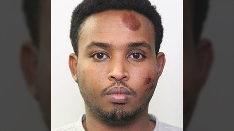 Abdulahi Hasan Sharif is seen in this photo released by Edmonton Police Service.