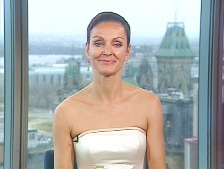 Lainie Towell, an alleged vicitim of marriage fraud, speaks on Canada AM from CTV's studios in Ottawa, Thursday, April 23, 2009.