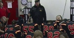 Former coach gives back to Gryphons football