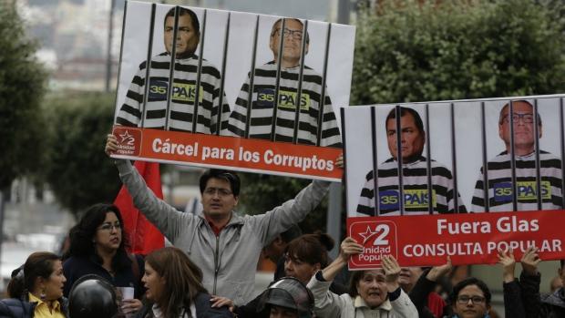 Ecuador vice-president jailed