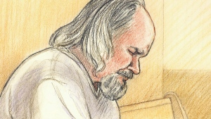Basil Borutski, court sketch