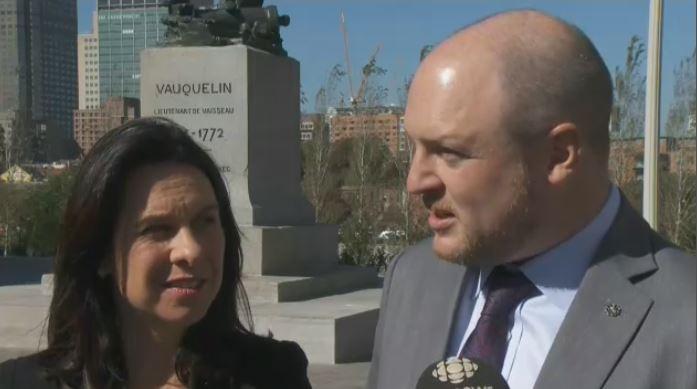 Projet Montreal's Valerie Plante and Craig Sauvé talk transit.