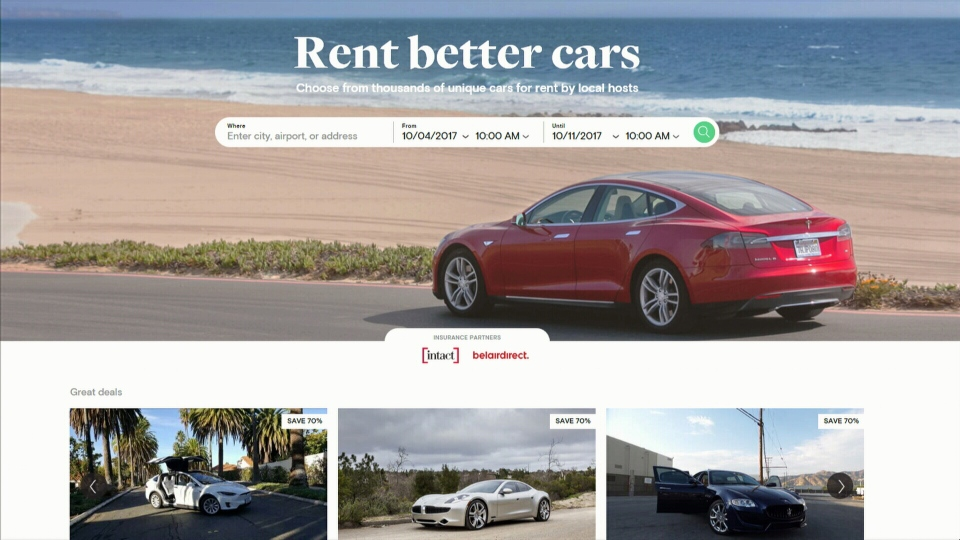 Airbnb For Cars >> Renting Your Ride Airbnb Of Car Rentals Comes To B C Ctv News