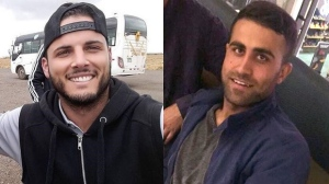 Amir Jamal (whose given name is Zemarai Khan Mohammed) and Tyler McLean appear in these undated photos. (Toronto police handout)