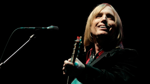 Tom Petty performs at the Bonnaroo Music & Arts Festival in Manchester, Tenn. on June 16, 2006. (Mark Humphrey/AP)