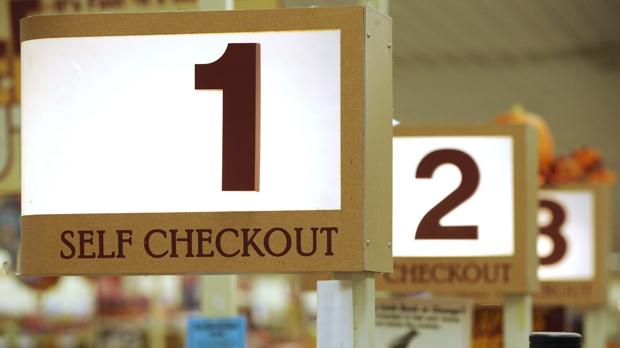 supermarket, self, serve