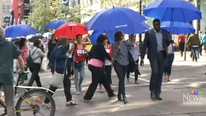 CTV Montreal: Generosity march