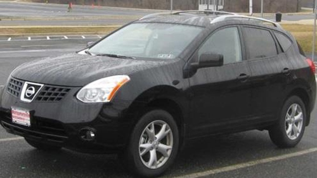 Eugene Kim is believed to be driving a Nissan Rogue similar to the one pictured. (YRP)
