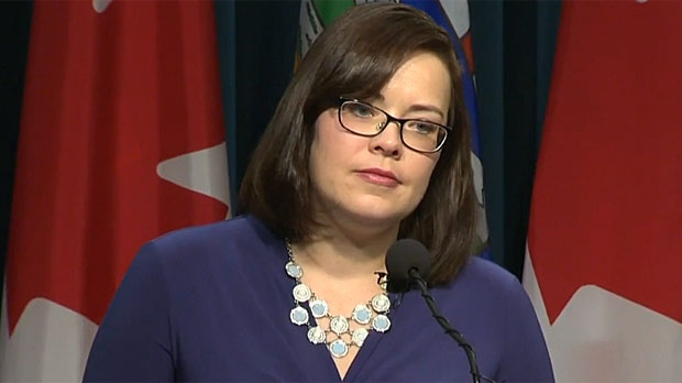 Justice Minister Kathleen Ganley says the government will continue to gather feedback from Albertans on pot legalization.