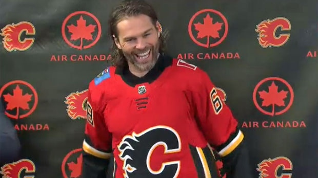 Jaromir Jagr Signs One-Year Deal With Flames