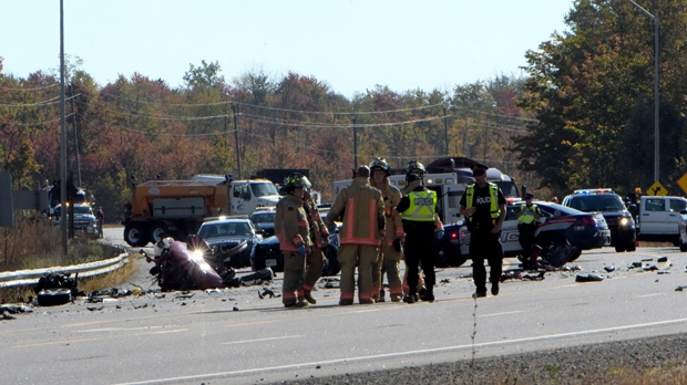 2 dead in 'devastating' highway crash after police pursuit